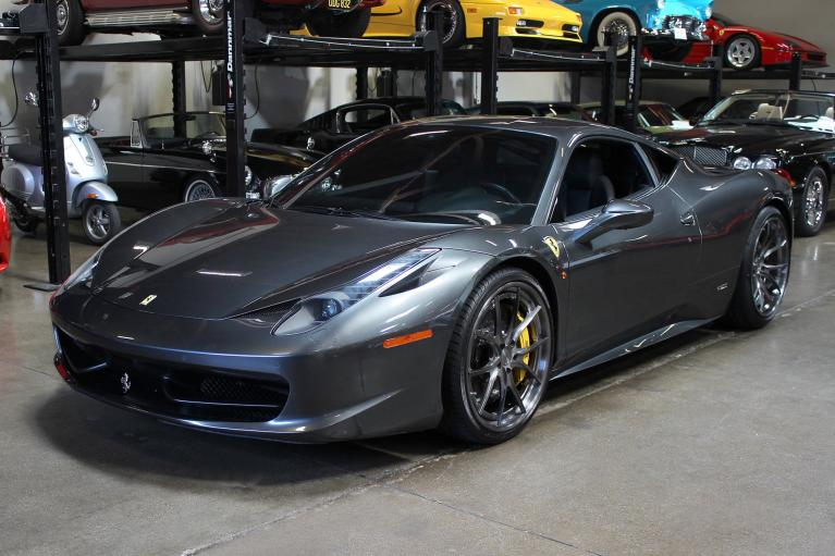 Used 2013 Ferrari 458 Italia for sale Sold at San Francisco Sports Cars in San Carlos CA 94070 3