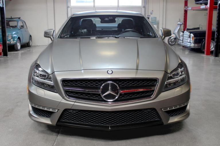 Used 2012 Mercedes-Benz CLS63 AMG for sale Sold at San Francisco Sports Cars in San Carlos CA 94070 2