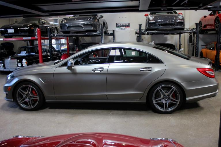 Used 2012 Mercedes-Benz CLS63 AMG for sale Sold at San Francisco Sports Cars in San Carlos CA 94070 4