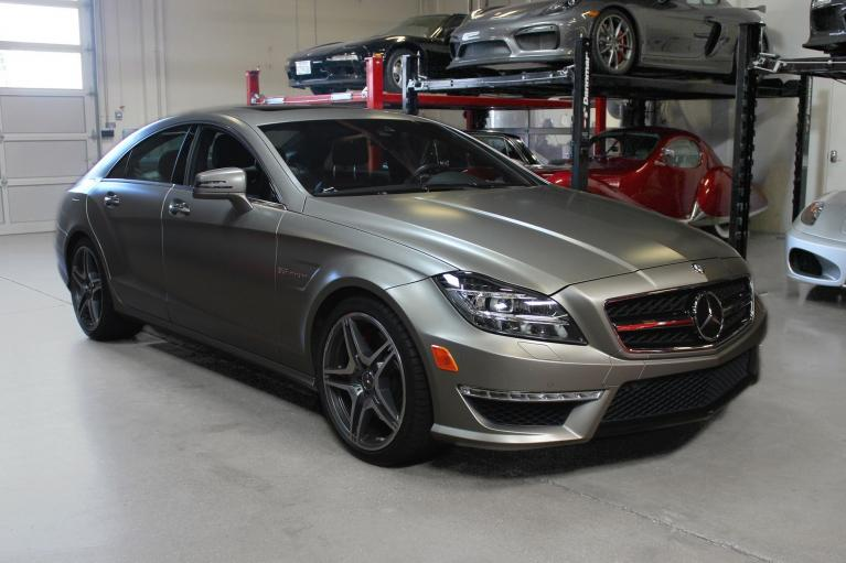 Used 2012 Mercedes-Benz CLS63 AMG for sale Sold at San Francisco Sports Cars in San Carlos CA 94070 1