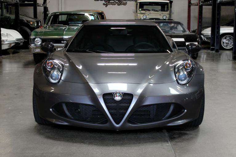 Used 2016 Alfa Romeo 4C for sale $44,995 at San Francisco Sports Cars in San Carlos CA 94070 2