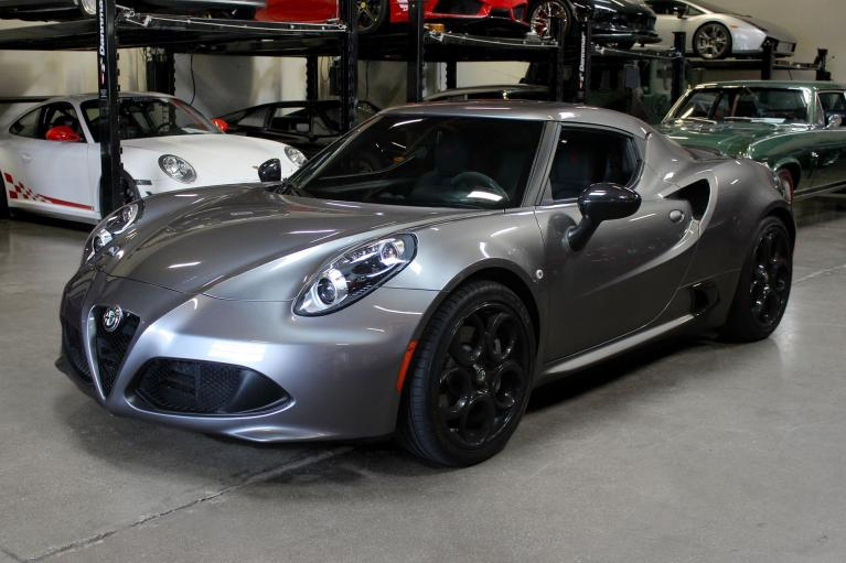 Used 2016 Alfa Romeo 4C for sale $44,995 at San Francisco Sports Cars in San Carlos CA 94070 3