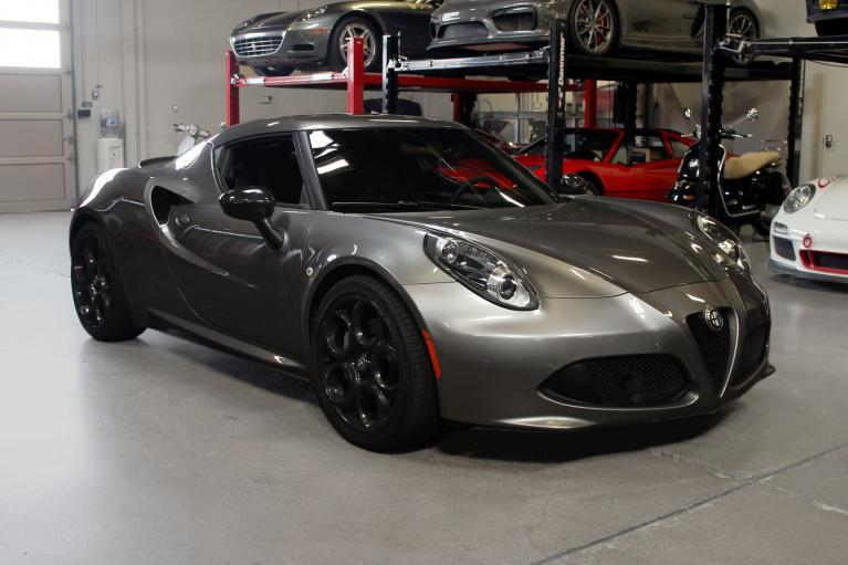 Used 2016 Alfa Romeo 4C for sale $44,995 at San Francisco Sports Cars in San Carlos CA 94070 1