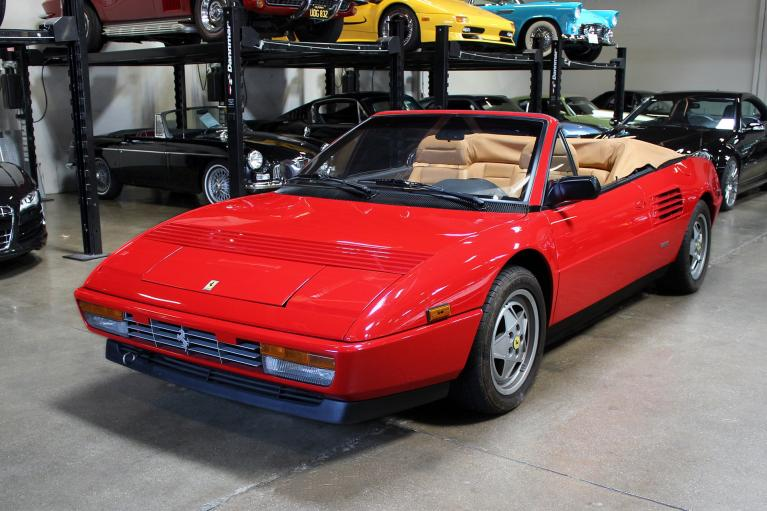 Used 1989 Ferrari Mondial T for sale Sold at San Francisco Sports Cars in San Carlos CA 94070 4