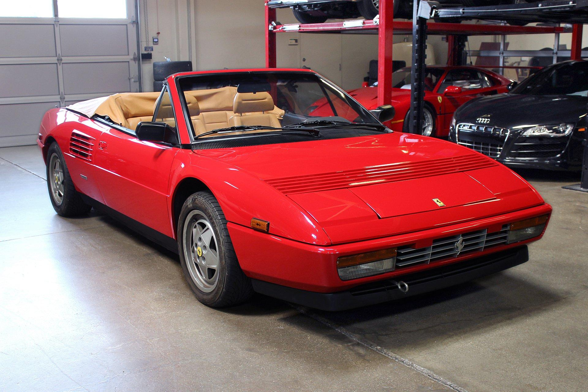 Used 1989 Ferrari Mondial T for sale Sold at San Francisco Sports Cars in San Carlos CA 94070 1