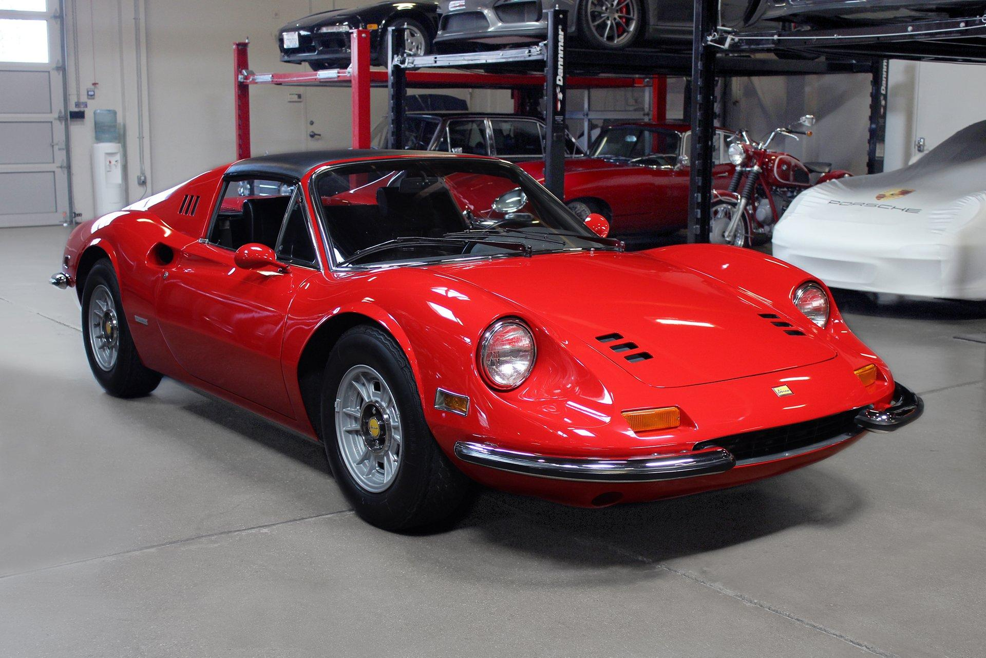 Used 1973 Ferrari 246 Dino GTS for sale $319,995 at San Francisco Sports Cars in San Carlos CA 94070 1