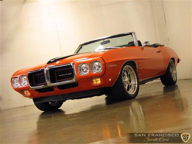 Used 1969 Pontiac Firebird for sale Sold at San Francisco Sports Cars in San Carlos CA 94070 2