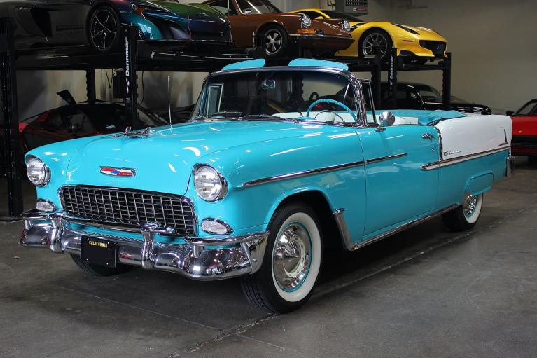 Used 1955 Chevrolet Bel Air for sale Sold at San Francisco Sports Cars in San Carlos CA 94070 3