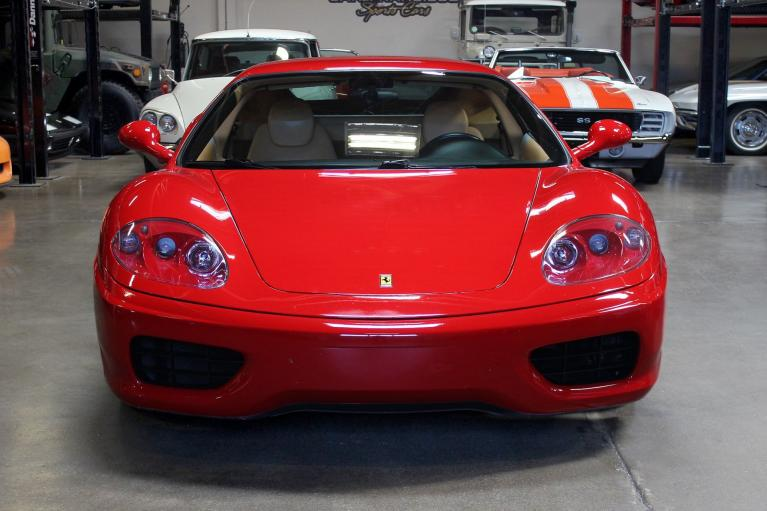 Used 2000 Ferrari 360 Modena F1 for sale Sold at San Francisco Sports Cars in San Carlos CA 94070 2