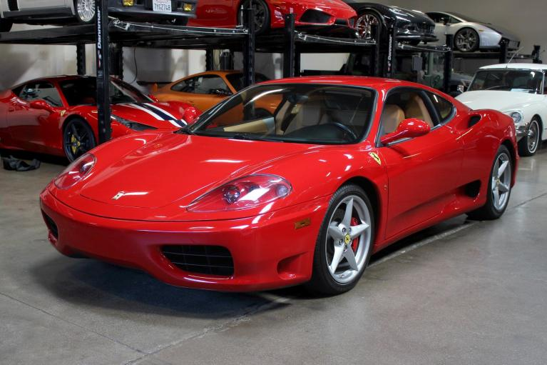 Used 2000 Ferrari 360 Modena F1 for sale Sold at San Francisco Sports Cars in San Carlos CA 94070 3