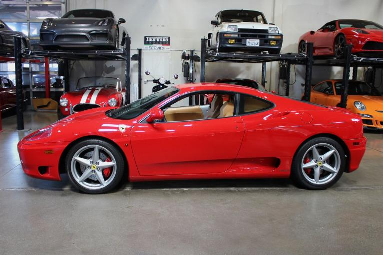 Used 2000 Ferrari 360 Modena F1 for sale Sold at San Francisco Sports Cars in San Carlos CA 94070 4