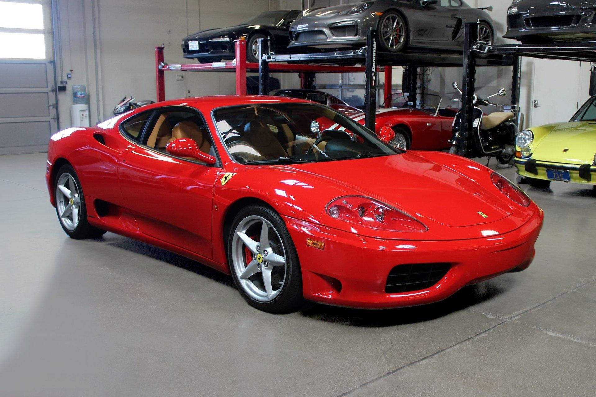 Used 2000 Ferrari 360 Modena F1 for sale Sold at San Francisco Sports Cars in San Carlos CA 94070 1