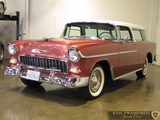 Used 1955 Chevrolet Nomad for sale Sold at San Francisco Sports Cars in San Carlos CA 94070 2