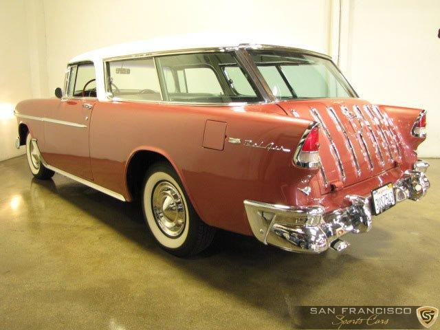 Used 1955 Chevrolet Nomad for sale Sold at San Francisco Sports Cars in San Carlos CA 94070 4