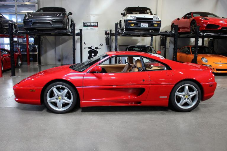 Used 1998 Ferrari F355 GTB for sale Sold at San Francisco Sports Cars in San Carlos CA 94070 4