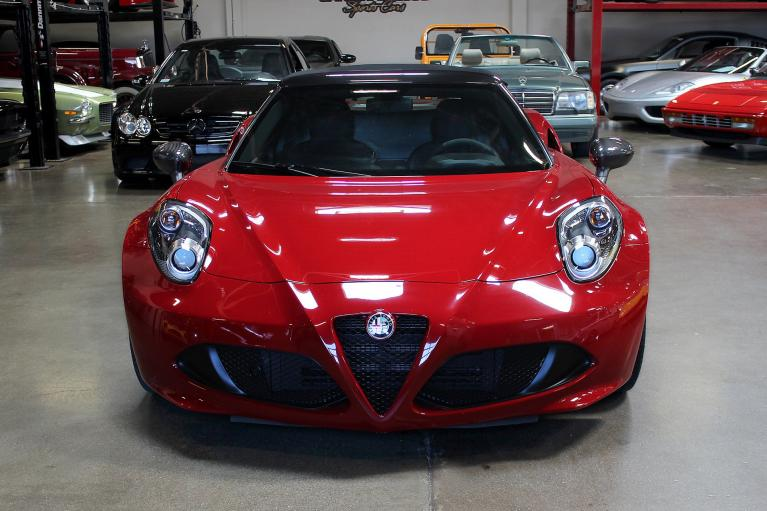 Used 2016 Alfa Romeo 4C for sale Sold at San Francisco Sports Cars in San Carlos CA 94070 2