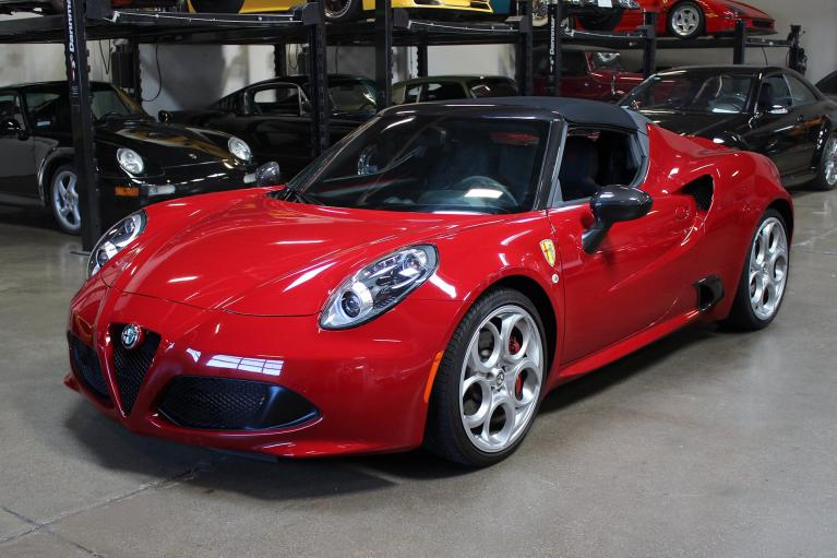 Used 2016 Alfa Romeo 4C for sale Sold at San Francisco Sports Cars in San Carlos CA 94070 3