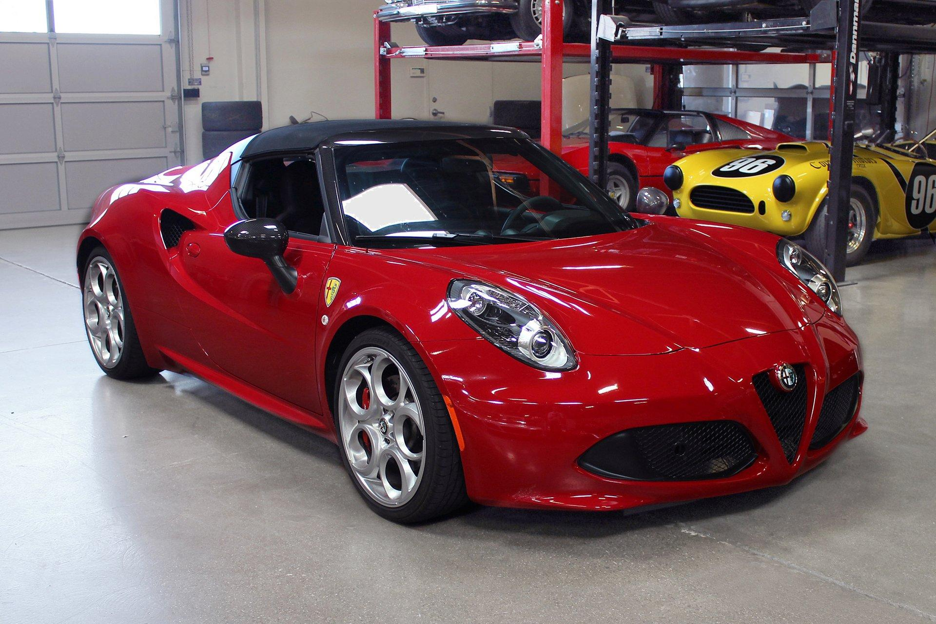 Used 2016 Alfa Romeo 4C for sale Sold at San Francisco Sports Cars in San Carlos CA 94070 1