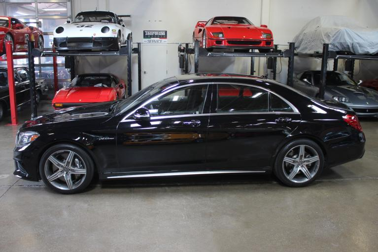 Used 2014 Mercedes-Benz S63 for sale Sold at San Francisco Sports Cars in San Carlos CA 94070 4