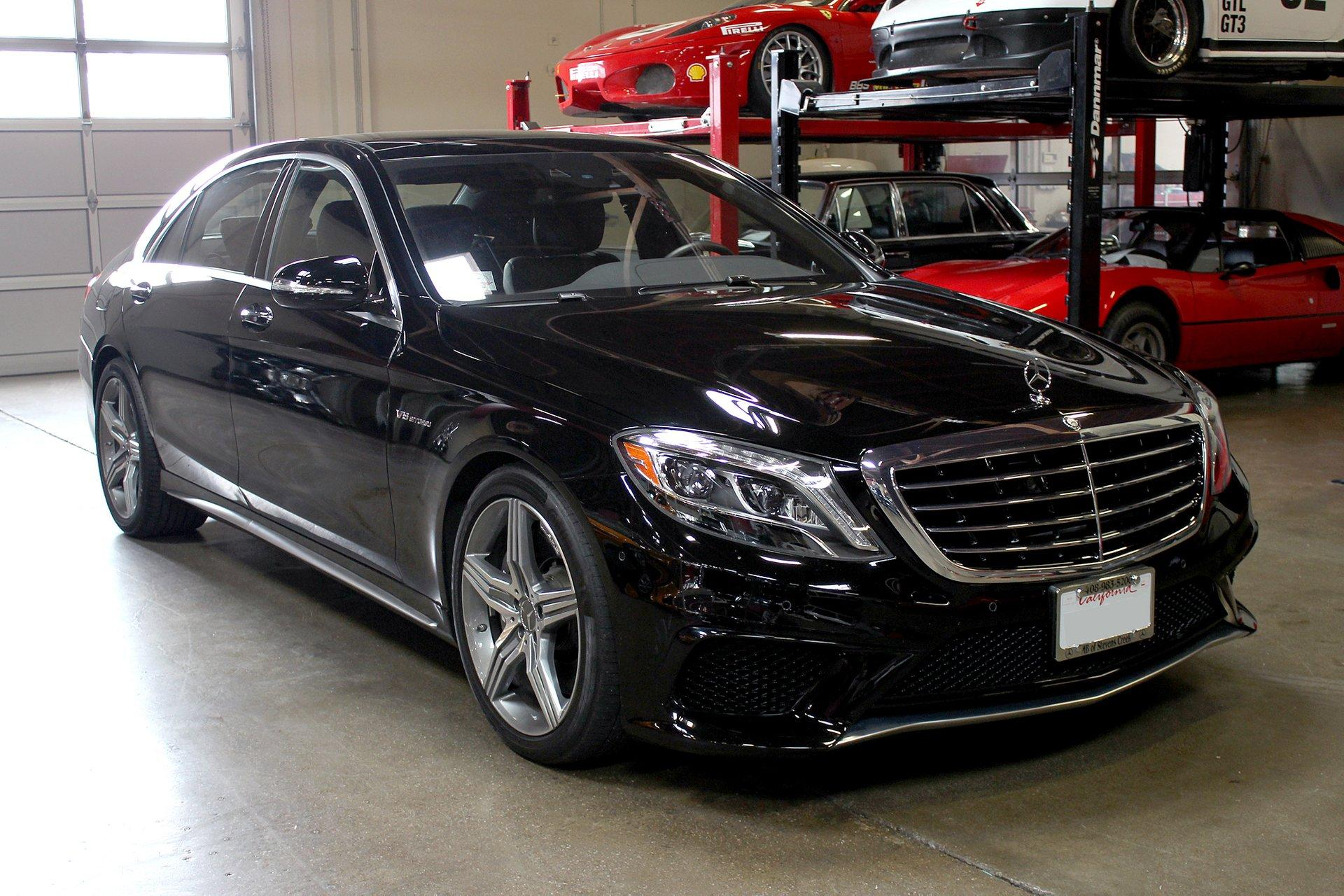 Used 2014 Mercedes-Benz S63 for sale Sold at San Francisco Sports Cars in San Carlos CA 94070 1