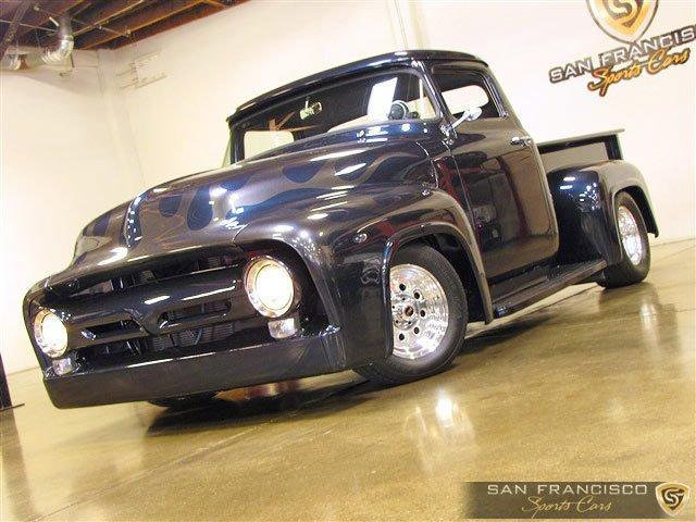 Used 1956 Ford F100 Custom Pickup for sale Sold at San Francisco Sports Cars in San Carlos CA 94070 2