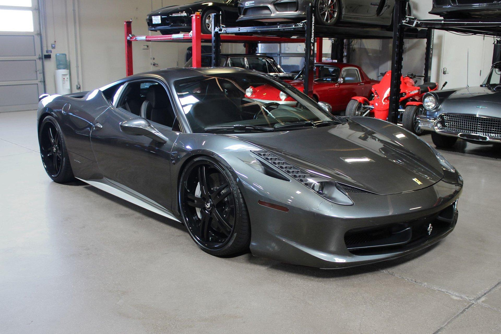 Used 2010 Ferrari 458 Italia For Sale Special Pricing San Francisco Sports Cars Stock P19083