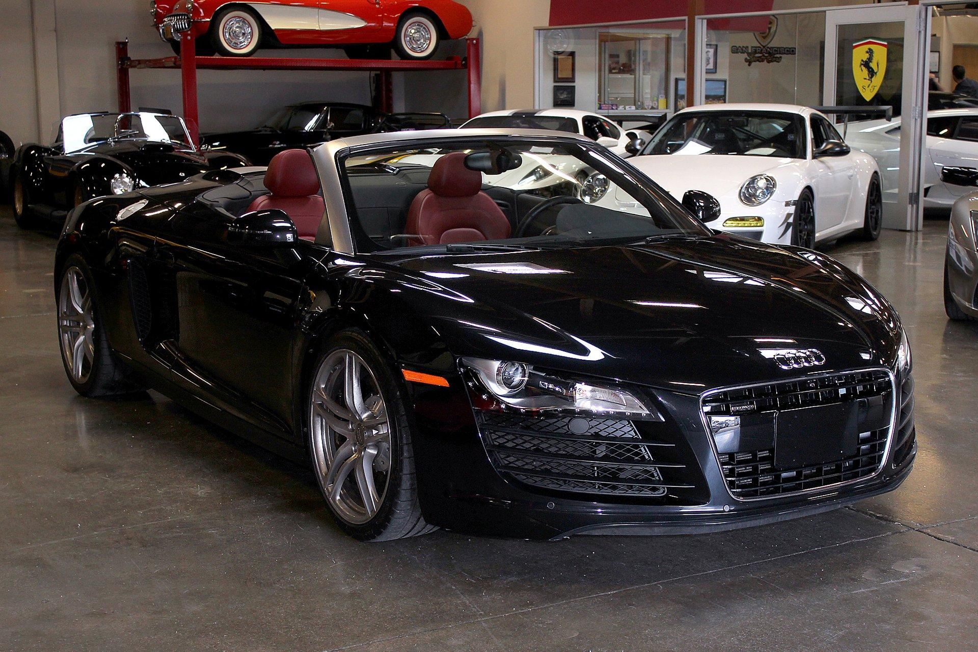 Used 2012 Audi R8 for sale Sold at San Francisco Sports Cars in San Carlos CA 94070 1