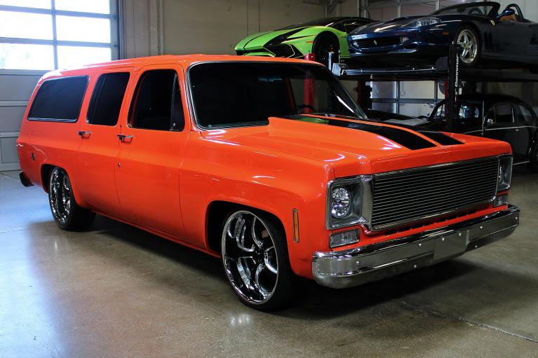 Used 1973 Chevrolet Suburban for sale Sold at San Francisco Sports Cars in San Carlos CA 94070 2