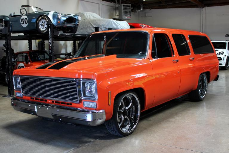 Used 1973 Chevrolet Suburban for sale Sold at San Francisco Sports Cars in San Carlos CA 94070 4