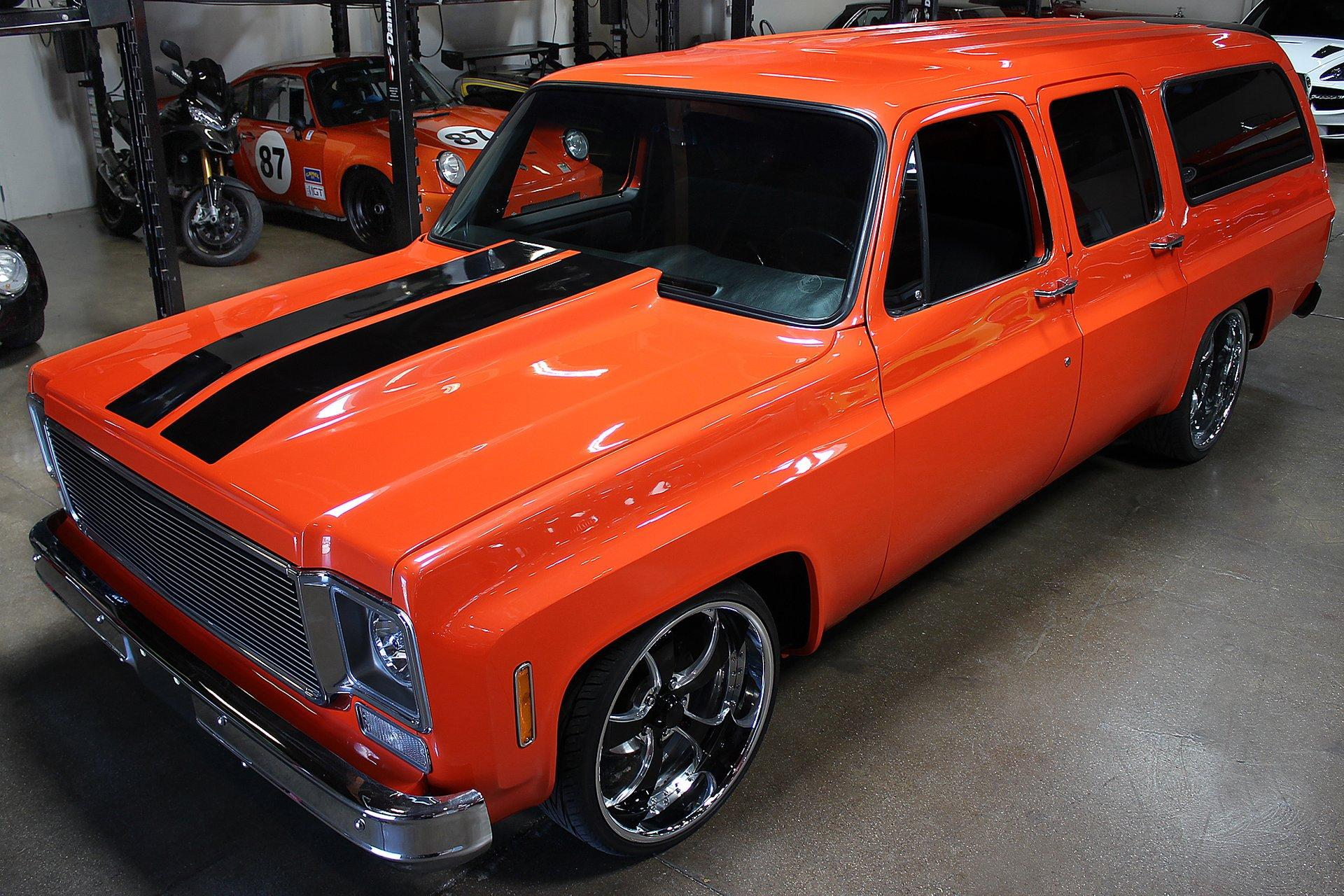 Used 1973 Chevrolet Suburban for sale Sold at San Francisco Sports Cars in San Carlos CA 94070 1