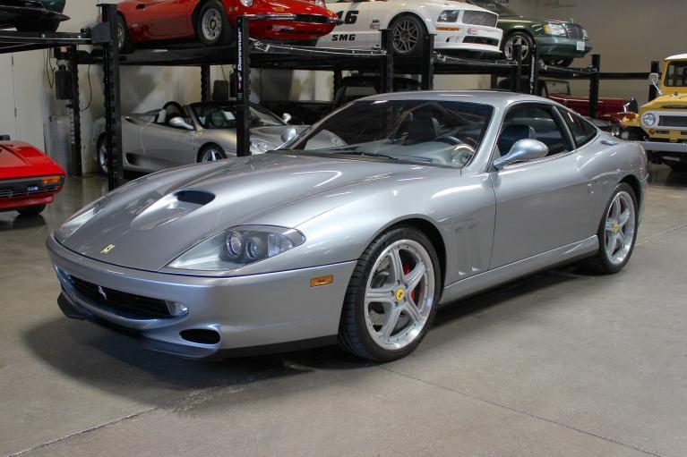Used 2000 Ferrari 550 Maranello for sale Sold at San Francisco Sports Cars in San Carlos CA 94070 3