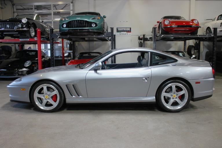 Used 2000 Ferrari 550 Maranello for sale Sold at San Francisco Sports Cars in San Carlos CA 94070 4