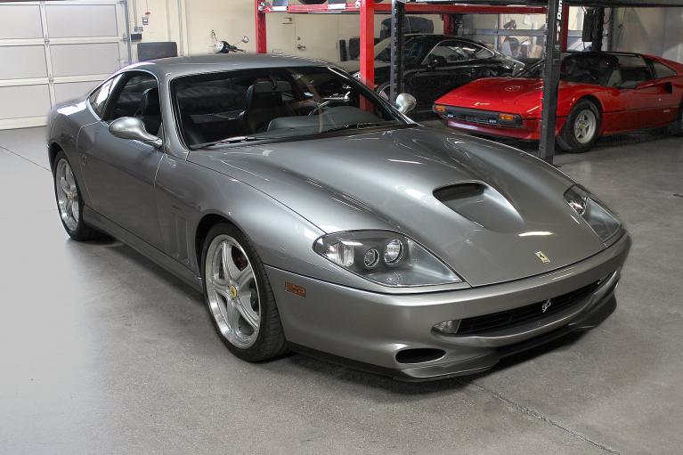 Used 2000 Ferrari 550 Maranello for sale Sold at San Francisco Sports Cars in San Carlos CA 94070 1