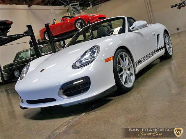 Used 2011 Porsche Boxster Spyder for sale Sold at San Francisco Sports Cars in San Carlos CA 94070 2