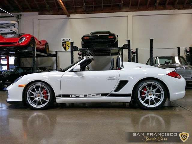 Used 2011 Porsche Boxster Spyder for sale Sold at San Francisco Sports Cars in San Carlos CA 94070 3