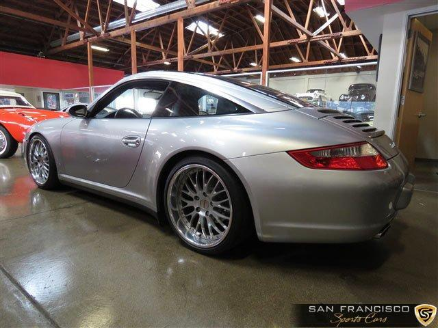 Used 2007 Porsche 911 Targa 4 for sale Sold at San Francisco Sports Cars in San Carlos CA 94070 3