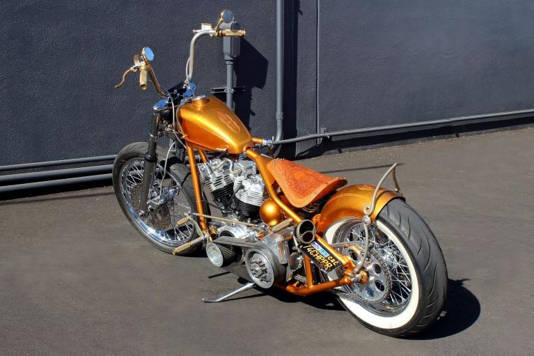 Used 1974 Harley-Davidson SHOVELHEAD for sale Sold at San Francisco Sports Cars in San Carlos CA 94070 4
