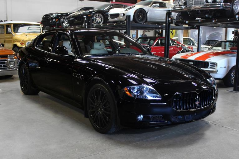 Used 2012 Maserati Quattroporte S S for sale $31,995 at San Francisco Sports Cars in San Carlos CA