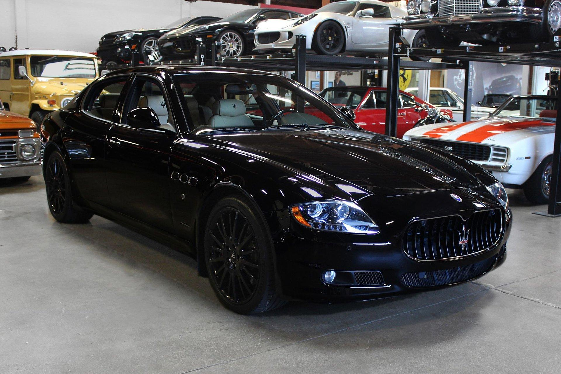 Used 2012 Maserati Quattroporte S S for sale Sold at San Francisco Sports Cars in San Carlos CA 94070 1