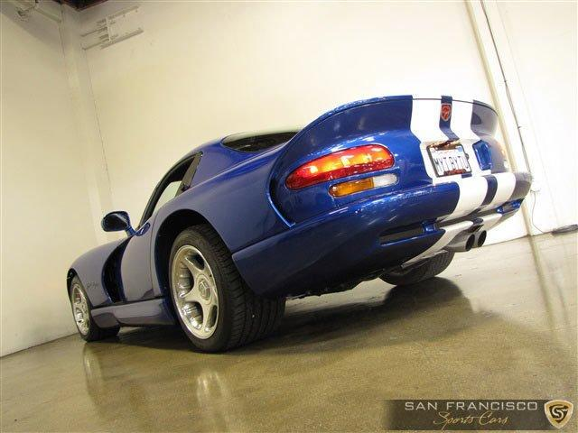Used 1996 Dodge Viper GTS for sale Sold at San Francisco Sports Cars in San Carlos CA 94070 4