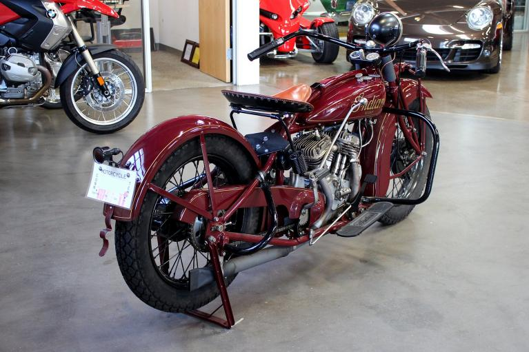 Used 1929 Indian 101 SCOUT for sale Sold at San Francisco Sports Cars in San Carlos CA 94070 4