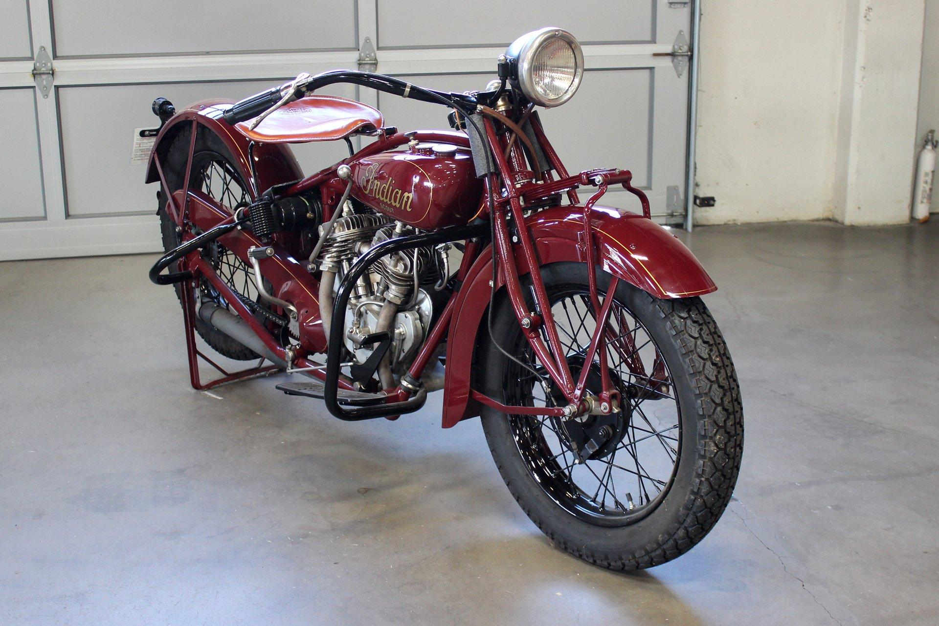 Used 1929 Indian 101 SCOUT for sale Sold at San Francisco Sports Cars in San Carlos CA 94070 1