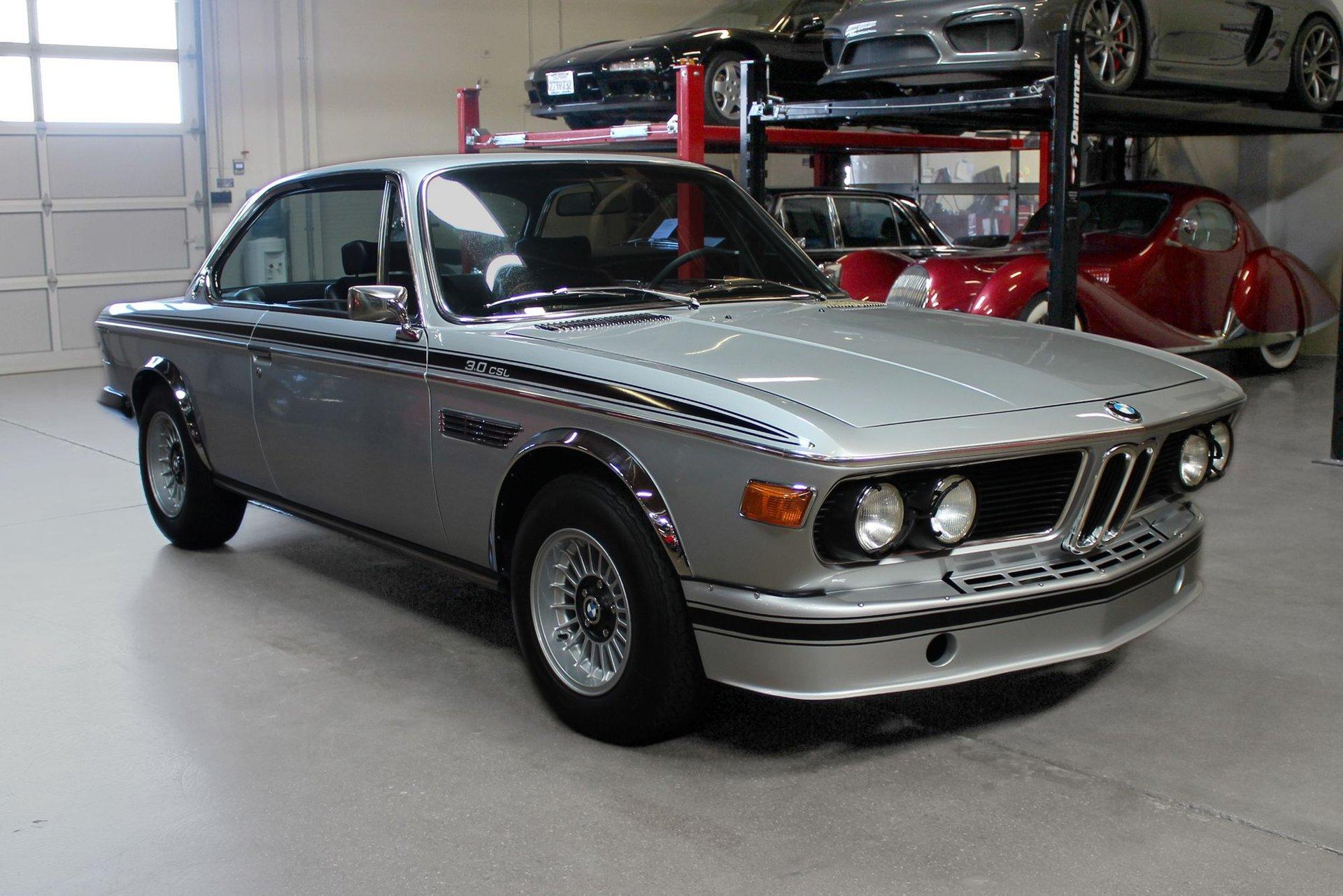 Used 1973 BMW 3.0CSL for sale $239,000 at San Francisco Sports Cars in San Carlos CA 94070 1