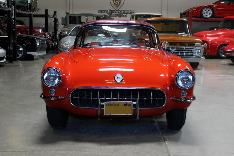 Used 1957 Chevrolet Corvette Convertible for sale Sold at San Francisco Sports Cars in San Carlos CA 94070 2