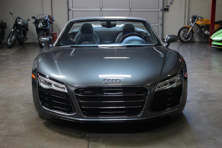 Used 2014 Audi R8 Spyder for sale Sold at San Francisco Sports Cars in San Carlos CA 94070 2