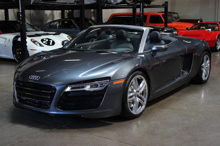 Used 2014 Audi R8 Spyder for sale Sold at San Francisco Sports Cars in San Carlos CA 94070 3