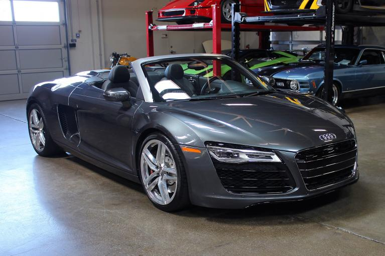 Used 2014 Audi R8 Spyder for sale Sold at San Francisco Sports Cars in San Carlos CA 94070 1