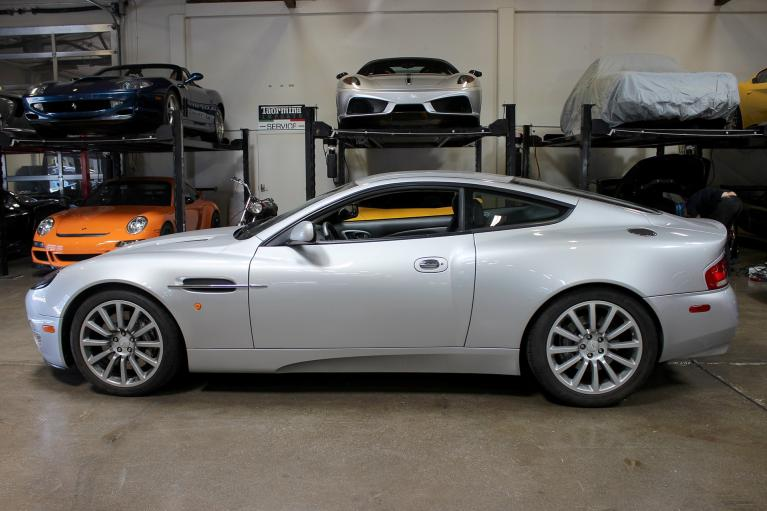 Used 2003 Aston Martin Vanquish for sale Sold at San Francisco Sports Cars in San Carlos CA 94070 4