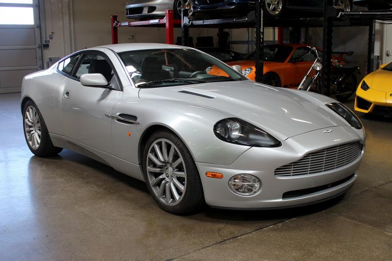 Used 2003 Aston Martin Vanquish for sale Sold at San Francisco Sports Cars in San Carlos CA 94070 1
