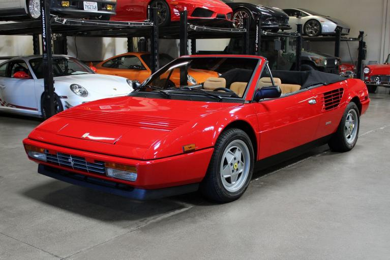 Used 1988 Ferrari Mondial for sale Sold at San Francisco Sports Cars in San Carlos CA 94070 3